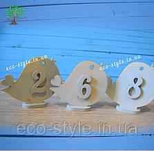 Номерки на столы на свадьбу