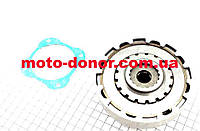 Сцепление в сборе (корзина) для мопеда DELTA 125cc - механика
