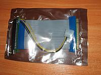 Райзер PCI-E 16x-16х (гибкий шлейф) с питанием Molex 16х-х16 flex майнинг биткоин bitcoin maining