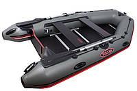 Мощная моторная лодка с надувным килем Вулкан Vulkan TMK320 (цвет сталь)