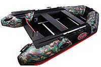 Моторная лодка с надувным килем (цвет камуфляж) Vulkan TMK320