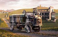 Армейский 3-тонный грузовой автомобиль FWD Model B       1\72     RODEN 736