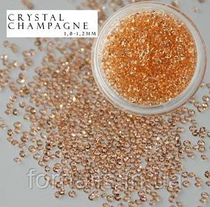 Хрустальная крошка Crystal Champagne (100 шт)