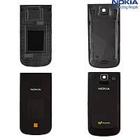 Верхняя и нижняя панель корпуса для Nokia 2720f, оригинальный (черная)