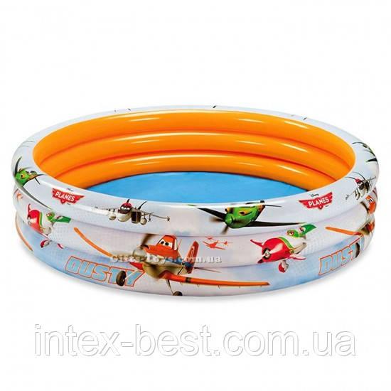 """Детский надувной бассейн """"Самолёты"""" Intex 58425"""