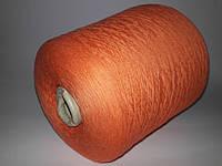 Пряжа Polo Mouline, 100% хлопок, кирпичный цвет,  Италия