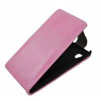 Чехол на телефон Lenovo A369 розовый