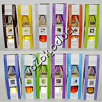 Аромадиффузоры с натуральными ароматическими маслами Fragrance Oil Love in Life и ротанговыми палочками