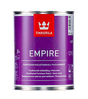 Tikkurila Empire краска для мебели база А 0,9л