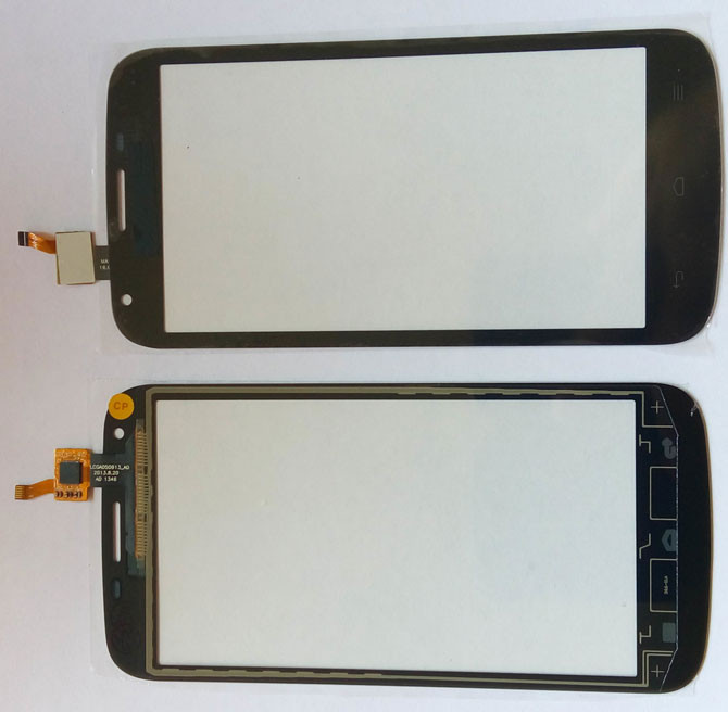 Сенсорний екран для смартфону Huawei Ascend Y600-U20, тачскрін чорний