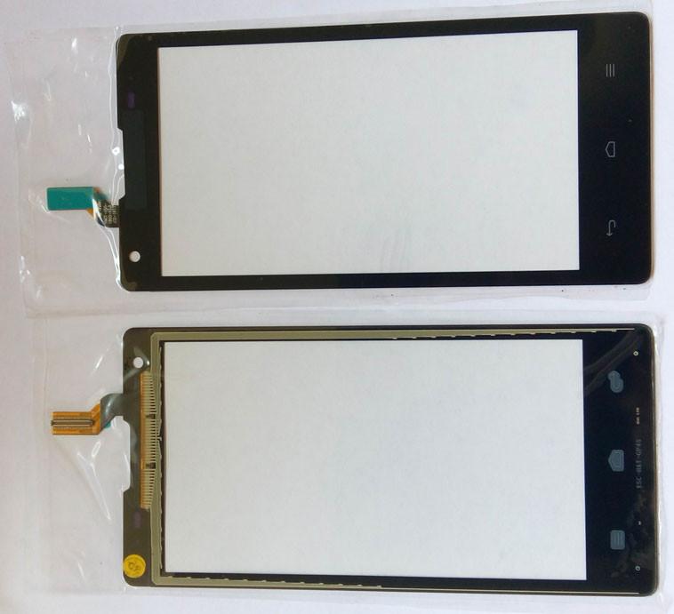 Huawei Ascend G700 тачскрин сенсор чорний оригінальний