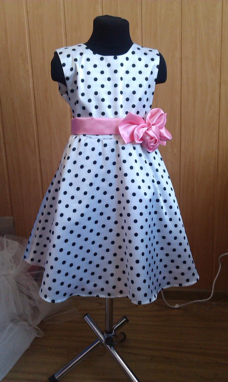 84121ed96ca8763 Детское Платье в горошек: продажа, цена в Бердянске. платья и ...