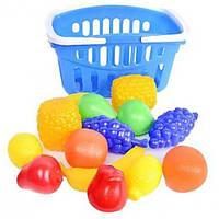 Набор - фрукты в корзине