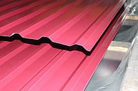 Некондиция профнатила НС-20 крашенная 3005 гнилая вишня