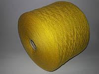 Пряжа LILU, 90%меринос шерсть, 10%-кашемир, горчичный цвет,Италия