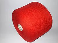 Пряжа LILU, 90%меринос шерсть, 10%-кашемир, красный цвет,Италия