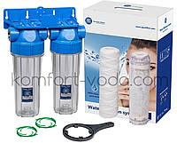 Фильтр умягчения воды Aquafilter FHPRCL34-B1-TWIN