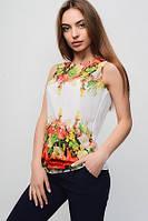Женская шифоновая футболка Нежность