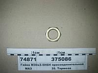 Гайка М30х2-5Н6Н присоединительной арматуры (пр-во Беларусь)