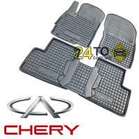 Автоковрики для CHERY Amulet (2012-...) (Комлект в салон) (Avto-Gumm), Чери Амулет