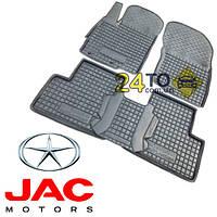 Автоковрики для JAC S 3 (Комлект в салон) (Avto-Gumm), Джак С3