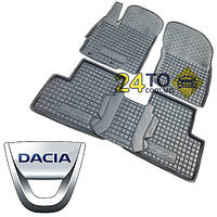 Автоковрики для DACIA Logan (2004-2012) седан  (Комлект в салон) (Avto-Gumm), Дачя Логан