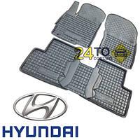 Автоковрики для HYUNDAI Sonata VIl (2010-...) (Комлект в салон) (Avto-Gumm), Хюндай Соната