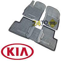 Автоковрики для KIA Rio (2006>10) (Комлект в салон) (Avto-Gumm), Киа Рио