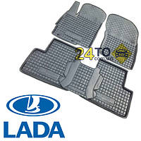 Автоковрики для LADA Niva (Тайга) (Комлект в салон) (Avto-Gumm), Лада Нива