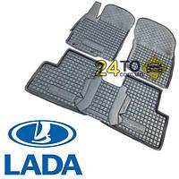 Автоковрики для LADA Largus (5-местный) (Комлект в салон) (Avto-Gumm), Лада Ларгус
