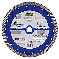 Круг алмазный отрезной по бетону 1A1R Turbo 232x2,6x12x22,23 Super DISTAR