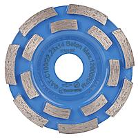 Фреза алмазная для шлифовки бетона Distar ФАТС-H 100/22,23-14 Baumesser Beton