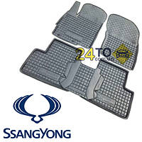 Автоковрики для SSANG YONG Kyron (Комлект в салон) (Avto-Gumm), Ссанг Йонг Кайрон