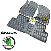 ☔️ Автоковрики для SKODA Octavia A5 (2004 - 2012) (Комлект в салон) (Avto-Gumm), Шкода Октавия