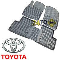 Автоковрики для TOYOTA Land Cruiser 120 (Prado) (Комлект в салон) (Avto-Gumm), Тойота Ленд Крузер 120 (Прадо)