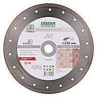 Круг алмазный отрезной по керамике 1A1R 230x2,2x8,0x22,23 Bestseller Ceramics DISTAR