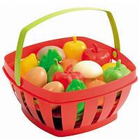 Детская Корзинка с продуктами Ecoiffier 966