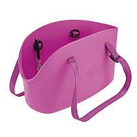 WITH-ME BAG фиолетовая Сумка-переноска для тварин, полімер 21,5*43,5* h 27 см