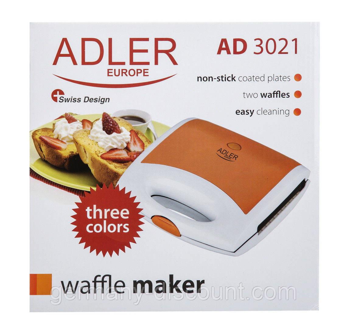 Вафельница Adler AD 3021