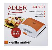 Вафельница Adler AD 3021 , фото 1