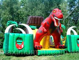 Динозавр - большой батутный комплекс