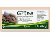 LivingDoll Ливинг Долл, цвет телесный Baby/Bebe, 227 г,пробник SuperSculpey (США), фото 1