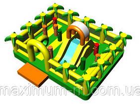 Джунгли - батутный комплекс, надувной игровой центр