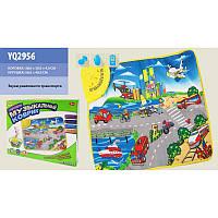 Музыкальный развивающий коврик Забавный городок YQ2956