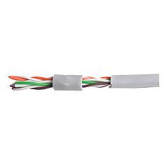 Кабель для интернета витая пара UTP 4х2х0,51 CCA ПВХ серый LAN-21 ElectroHouse