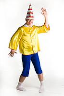 Буратино мужской карнавальный костюм