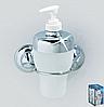 Дозатор для жидкого мыла на вакуумных присосках