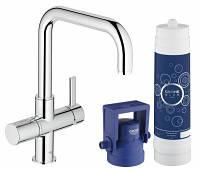Кухонный смеситель с фильтром для воды Grohe Blue Pure 31299001