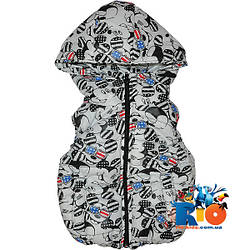 """Болоньевая жилетка """"Mickey Mouse"""" для мальчиков (рост 92-116 см)"""