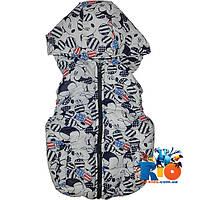 """Болоньевая жилетка """"Mickey Mouse"""" для мальчика (рост 92-116 см)"""